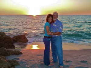 Sunset on Captiva portrait